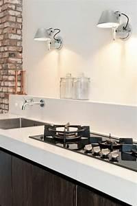 mur brique blanc cuisine 20170930122119 tiawukcom With superb couleur gris clair peinture 5 cuisine gris anthracite 56 idees pour une cuisine chic