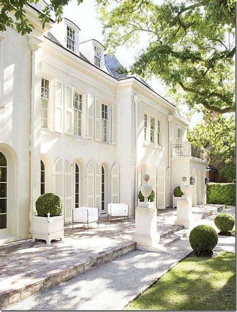 House With White Shutters by Best 25 White Exterior Houses Ideas On White