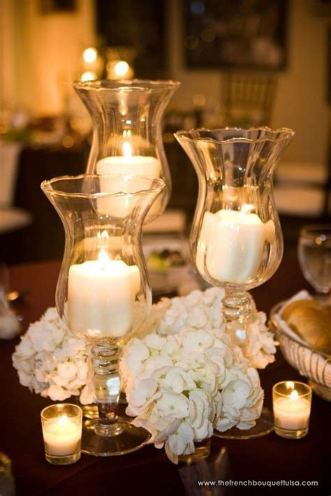 hydrangeas and candles we can do this party and
