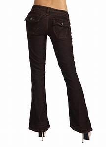 Stitchu0026#39;s Designer Denim Women Jeans Pants Trousers BootCut Brown Size 12 | eBay