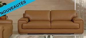 canape cuir perou With fabricant de canapé en cuir