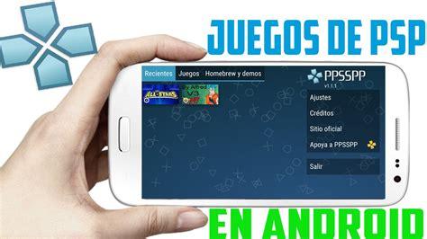 juegos de ppsspp para android fácil descargar mega