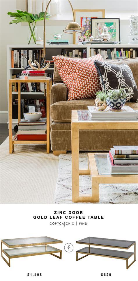 bassett end table costco zinc door key gold leaf coffee table copycatchic