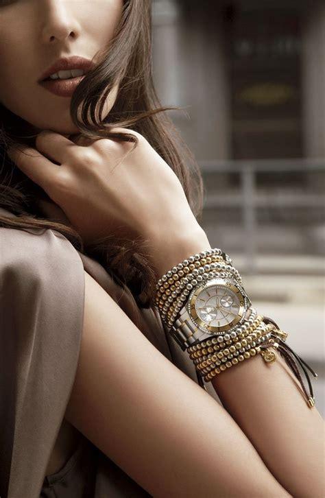 multiple bracelets trendy   wear  accessories