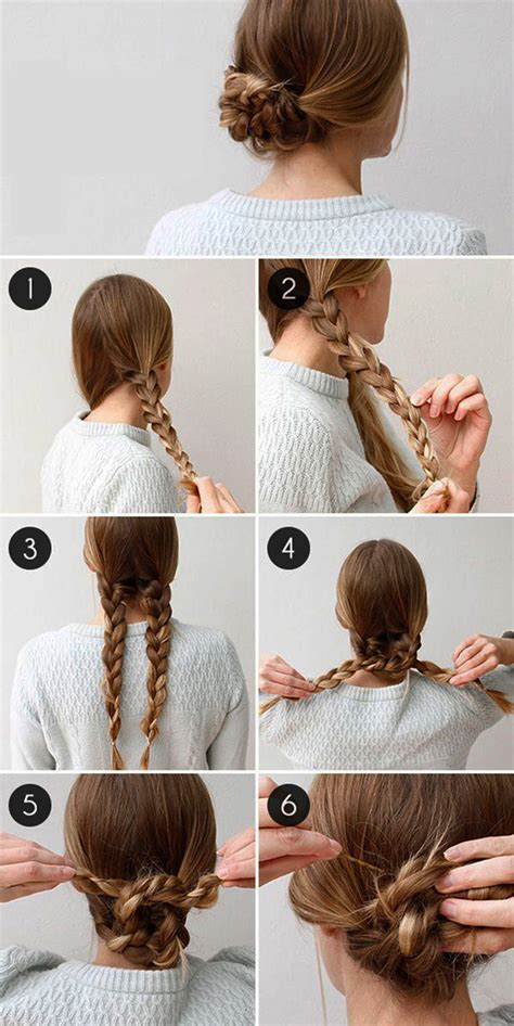 easy step  step tutorials     braided hairstyle
