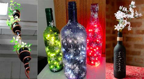 chambre de bonne 16 20 idées pour transformer vos bouteilles de verre en