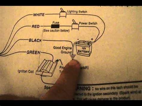 Autometer Briggs Engine Tachometer Wiring