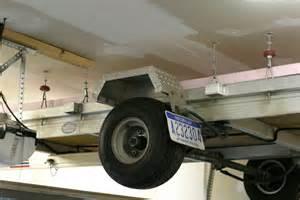DIY Garage Storage Lift System