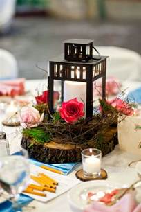 lantern centerpieces for weddings my wood slice lantern centerpieces weddingbee photo gallery