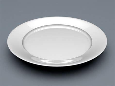 white plate  model cinema dobject files   modeling   cadnav