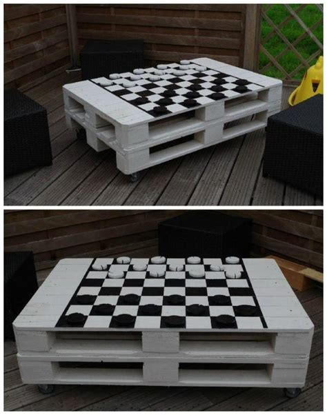 pallet coffee table  inspiring diy