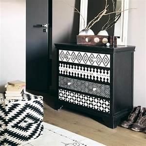 Commode Noir Et Bois : 17 meilleures id es propos de commodes sur pinterest meubles recycl s meubles de rangement ~ Teatrodelosmanantiales.com Idées de Décoration
