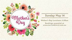 Mothers Day Luncheon at Waterside Events, Currumbin