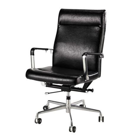 roulettes pour fauteuil de bureau fauteuil de bureau 224 roulettes noir maisons du monde