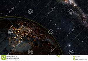 Earth Night Stock Photo - Image: 54412662