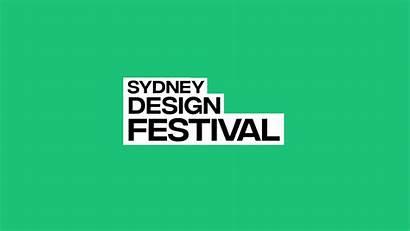Sydney Festival Behance Motion Push Forward Identidad