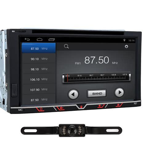 autoradio mit bildschirm kamera 6 95 quot autoradio mit bildschirm touchscreen android 6