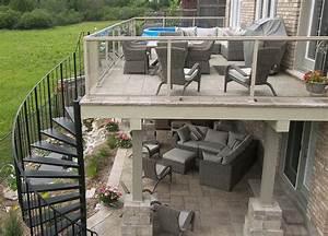 Terrasse Metallique Suspendue : terrasse suspendue en bois fiche pratique et id es d co saisir imm diatement ~ Dallasstarsshop.com Idées de Décoration