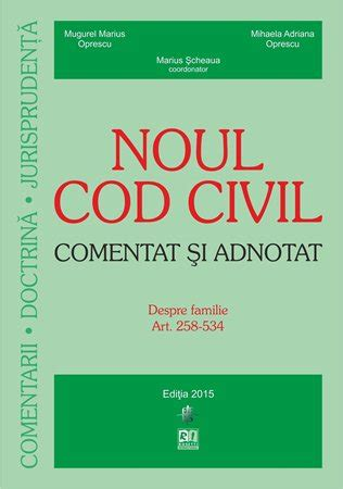 codul civil comentat