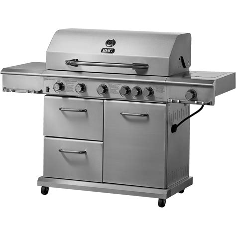 stainless steel gas grills backyard grill 4 burner stainless steel lp gas grill walmart com