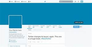 image gallery twitter template 2016 With blank twitter profile template