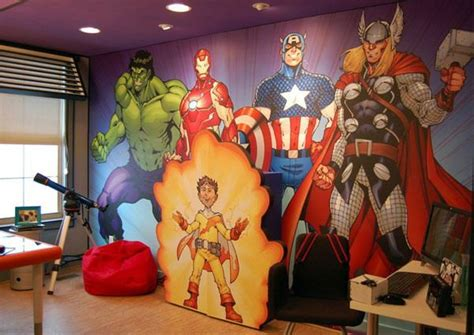 Best Images About Boys Room Ideas (avengers Fan) On