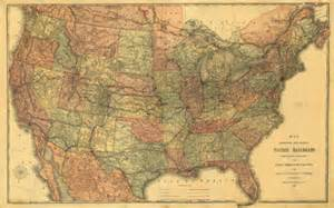Old United States Map