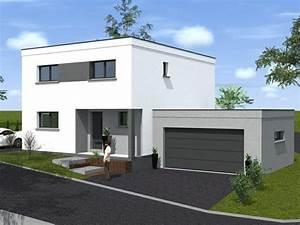 17 meilleures idees a propos de maison cubique sur With marvelous maison toit plat en l 4 maison neuve contemporaine toit plat