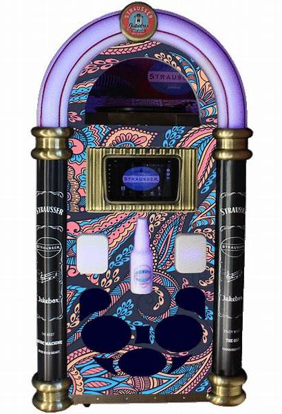 Jukebox Mp3 Vinyl Record Player Dvd Strausser