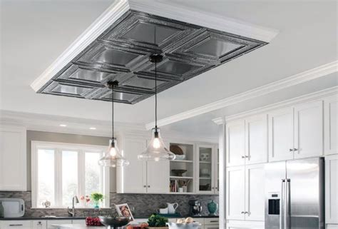 kitchen drop ceiling tiles metallaire surface mount ceilings armstrong ceilings 8279
