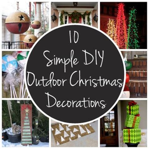 cheap ways to decorate your backyard easy and inexpensive ways to decorate your yard or porch for the holidays christmas