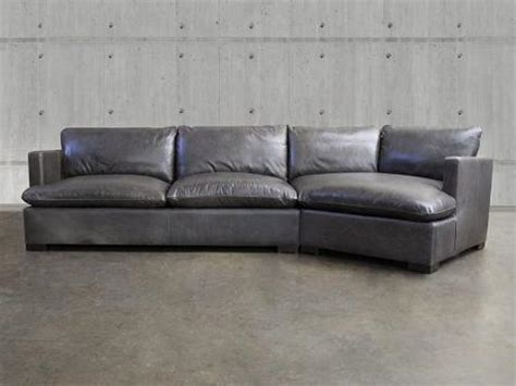 Cuddler Loveseat by Reno Leather Sectional Sofa With Cuddler Leather