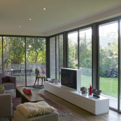 Living Room Design Tv In Front Of Window by Tv Stands Design Pictures Remodel Decor And Ideas