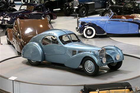 Type 57s were built from 1934 through 1940, with a total of 710 examples produced. 1936 Bugatti Type 57SC Atlantic | | SuperCars.net