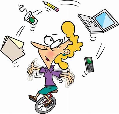 Clipart Assistant Personal Busy Cliparts Clip Virtual