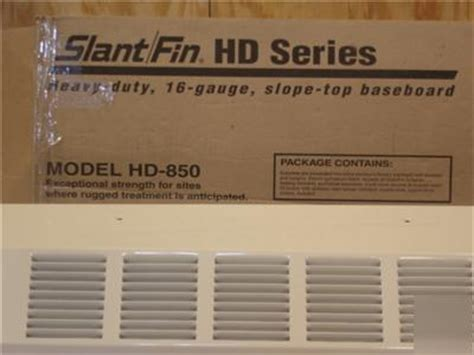 slantfin slant fin ft hd  baseboard enclosure