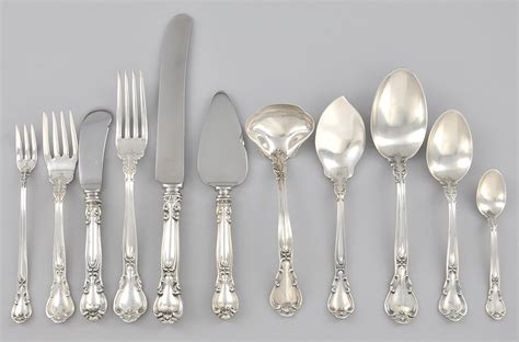 gorham flatware silver chantilly sterling silverware patterns dinnerware material save stainless sinclair harvey shell cutlery