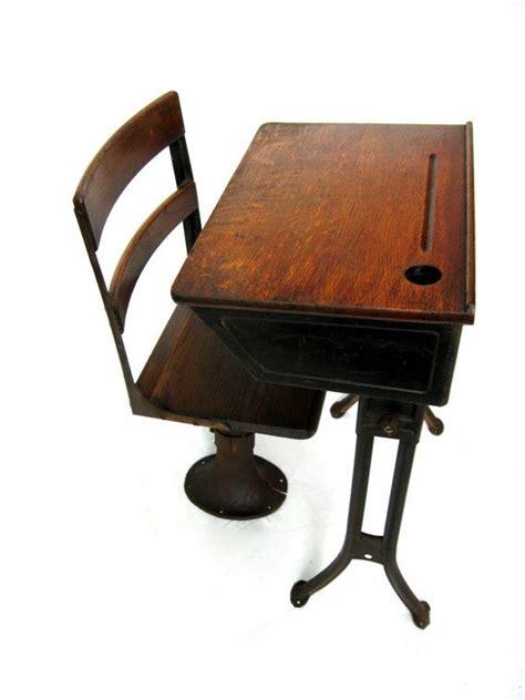 Antique School Desk Child's Desk With By Riverhousedesigns