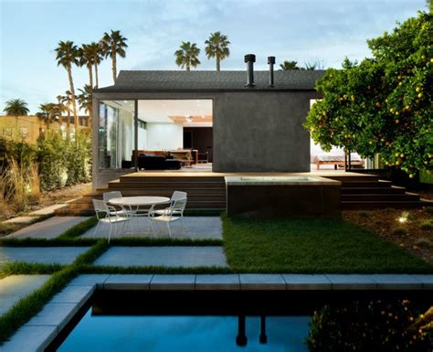 hollywood bungalow modern pool los angeles by walker workshop