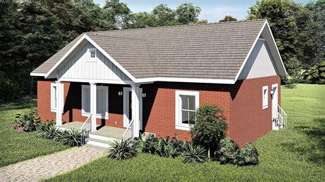 Ranch Style House Plan 77406 with 3 Bed 2 Bath in 2020
