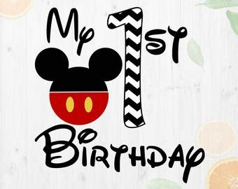 This is a personal use svg file and it's perfectly compatible with cricut explore, silhouette cameo, brother scan n cut, sizzix eclips, sure. Mickey birthday | Etsy