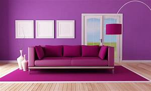 Purple color for mesmerizing room wall designs with purple for Images of desing of room wall