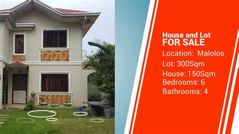 house and lot for sale malolos bulacan youtube