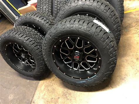 xd grenade black wheels fuel  tires package