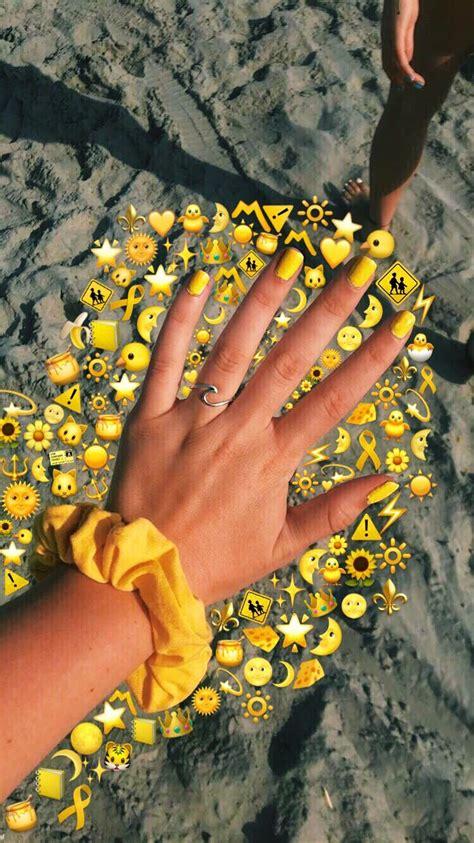 yellow emojies emoji pictures emoji photo aesthetic