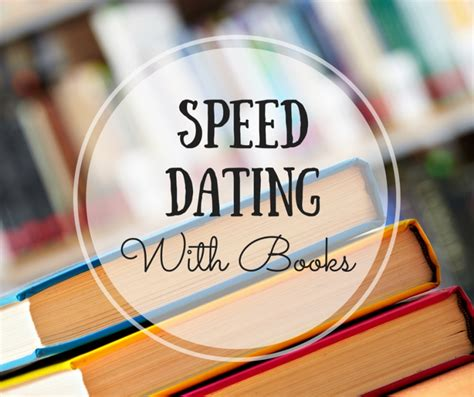 different types of speed dating