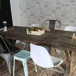 Chaises Modernes Pour Table Ancienne. table ancienne et chaises ...