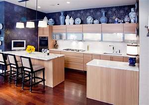 design ideas for the space above kitchen cabinets With best brand of paint for kitchen cabinets with art decorations for walls