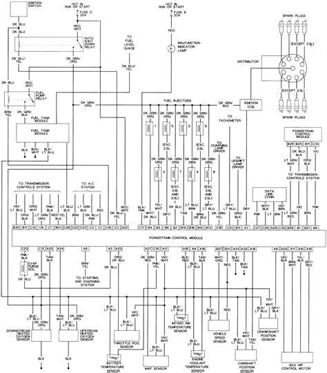 Dodge Dakota Sport Pcm Wiring Diagram