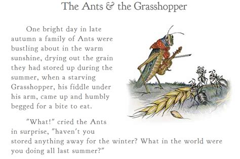 in decisions are you an ant or a grasshopper